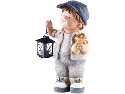 Figurine décorative Petit Willy avec lanterne