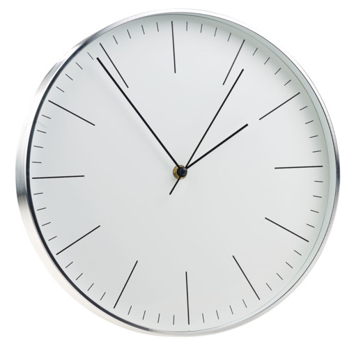 Horloge murale design Ø 31 cm à mécanisme silencieux Sweep