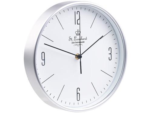 Horloge murale radio-pilotée Ø 25 cm à grands chiffres