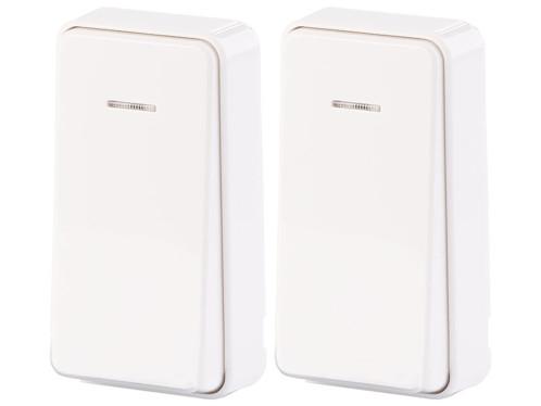 2 interrupteurs cinétique KFS-100.s pour récepteurs KFS-150 - Format compact