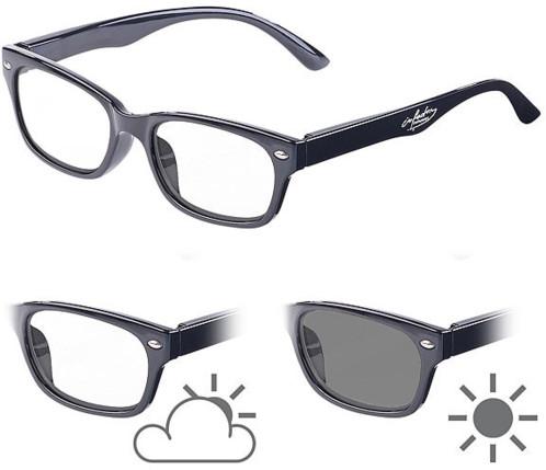 245bbbe6079e83 Lunettes de lecture avec verres à teinte variable et protection UV 400, 0  dpt