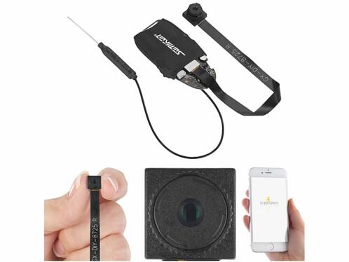 Mini caméra Full HD connectée
