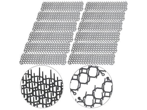 grilles à pointes pour protection anti nuisibles rats souris martres fouines pour plates-bandes place de parking bassin exterieur