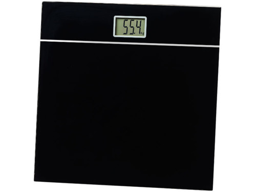balande pese personne design en verre noir ultra resistant avec ecran digital lcd et mesure precise newgen medicals