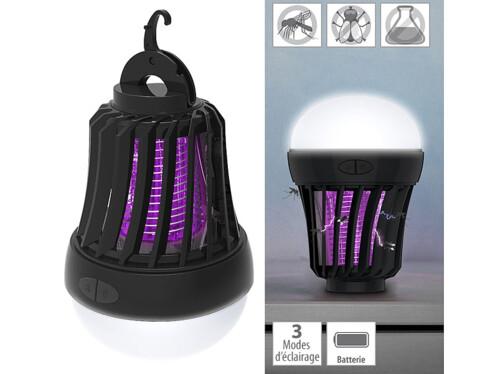 Piège à insecte et lanterne de camping