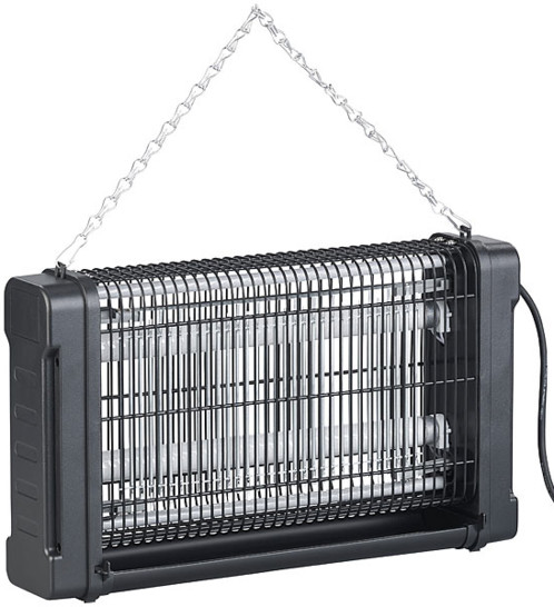 Piège à insectes 4000 V avec tubes UV interchangeables IV-529