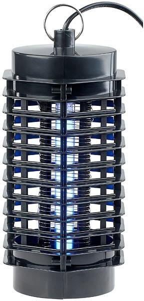 piege a insectes intérieur avec tube lumière UV et chocs electriques à 360 exbuster iv-120