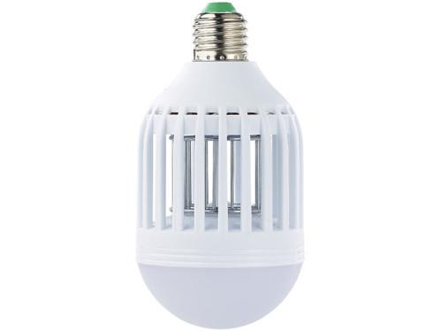 Piège à insectes et ampoule LED 2 en 1 E27 9 W 550 lm blanc lumière du jour