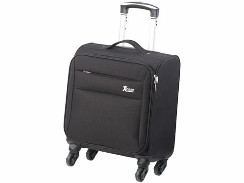 mini valise trolley 21 litres avec manche telescopique et 4 roulettes 360 xcase