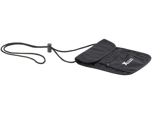 pochette de ville en coton avec 4 poches sac a main homme unisexe rangement portefeuille clés téléphone noir