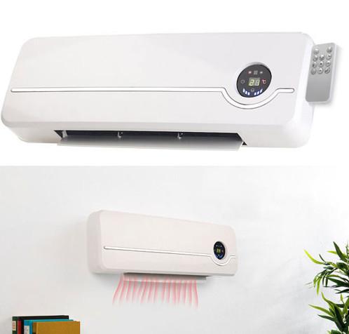 chauffage electrique soufflant mural avec télécommande et ecran led chauffage en ceramique lv700w