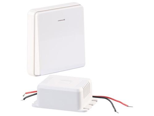 Récepteur sans fil encastrable 200W avec interrupteur cinétique