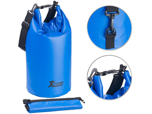 sac en bache indechirable etanche pour canyoning kayak canoe plage rafting xcase