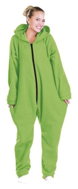 Tenue d'intérieur en textile polaire - Vert - taille XXL