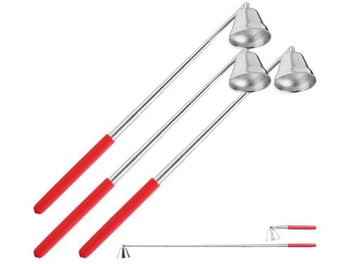 3 éteignoirs téléscopiques en inox
