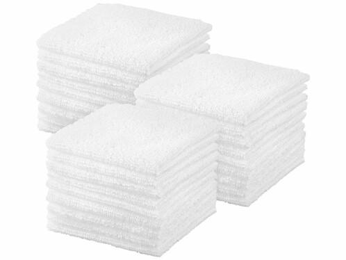 30 serviettes démaquillantes en microfibres recyclées
