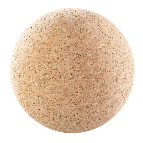 Balle de massage et d'exercice en liège Ø 10cm
