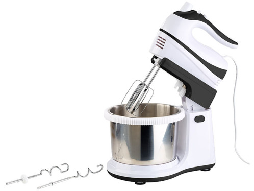 Vitesse 6 Food Support Mixeur avec Bol Crochet à pâte batteur Baking Kitchen Set NEUF