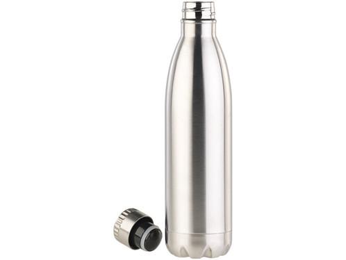 bouteille isotherme double paroi en acier inoxydable contenance 75 cl rosenstein