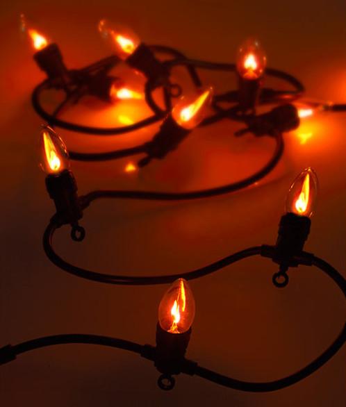 Lumineuse Flammes Effet Lunartec À 2 4 Guirlande M 10 Ampoules Décorative wPk8n0XO
