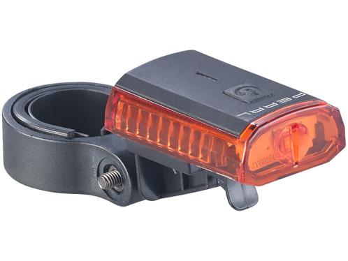 Lampe de sécurité à LED rouge avec câble de chargement USB