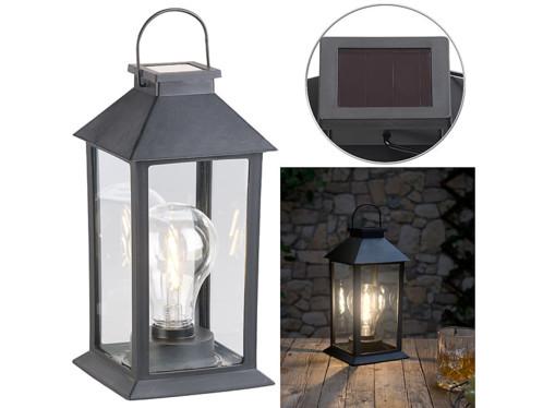 Lanterne LED solaire 5 lm avec capteur de luminosité