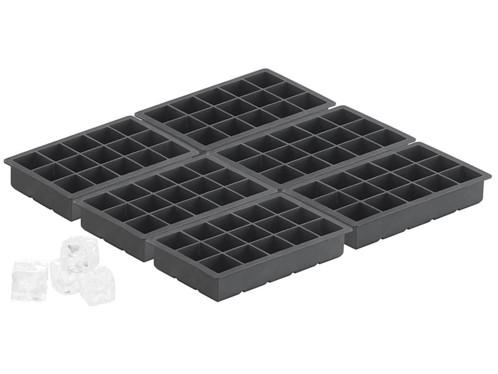 6 moules à glaçons en silicone 500 ml pour 15 glaçons 3 x 3 x 3 cm