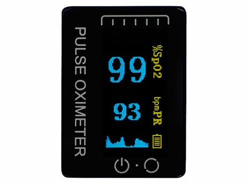 oxymetre quantité oxygène dans le sang haute précision pour sport fitness cardio running escalade ski altitude alpinisme