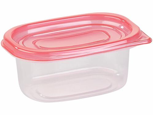 pack de 60 boites de conservation en plastique type tupperware en 10 tailles differentes
