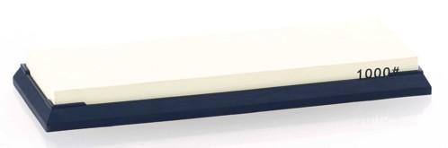 pierre a aiguiser style japonais pour affutage couteaux hachoirs eminceur ciseaux cisaille grain 1000