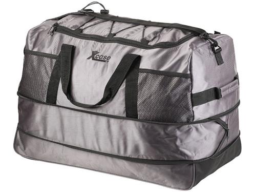ba94cce701 grand sac de voyage ultra leger en toile avec trolley 3 roulettes capacité  140L xcase