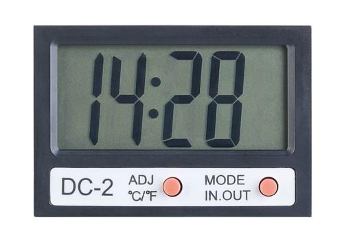 Contrôleurs/régulateurs/mètres appareil de mesure Eau Thermomètre Aquarium thermomètre digital avec la température ambiante