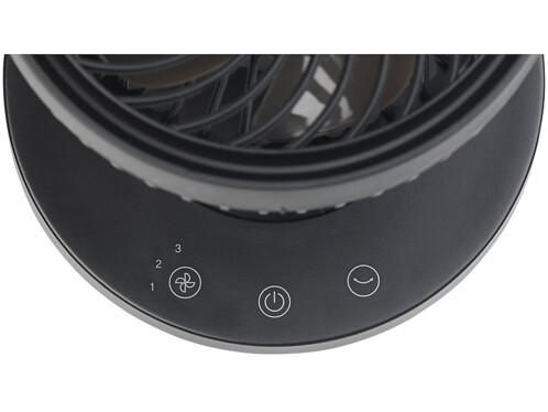 Ventilateur de table USB 5W à 3niveaux de vitesse et oscillation VT-120.T
