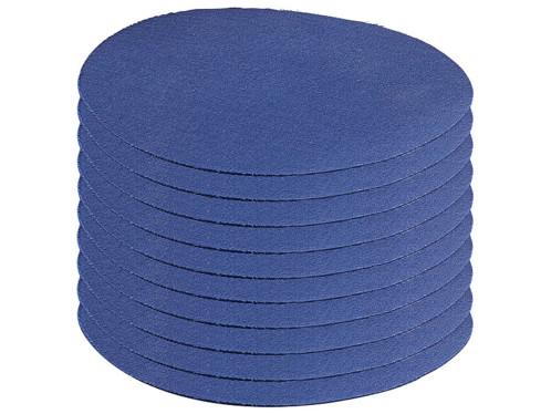 10 patchs thermocollants en coton - coloris bleu