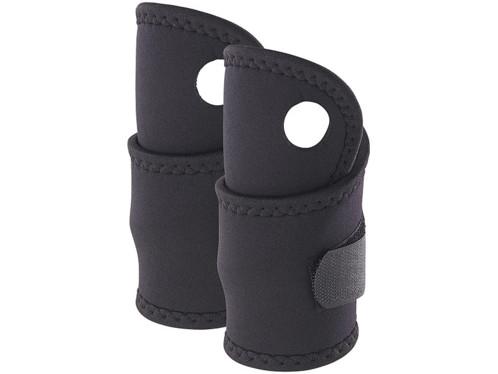 2 bandages poignet en néoprène pour gaucher/droitier