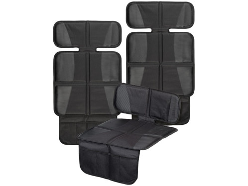 """2 couvre-sièges auto """"Basic"""" avec poches en filet"""