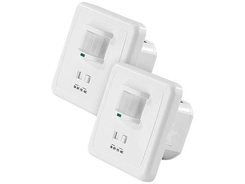 2 interrupteurs avec détecteur de mouvement+capteur acoustique
