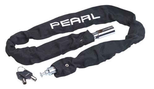 cadenas chaine acier trempé 1m avec 2 clés de securité pour velo et scooter