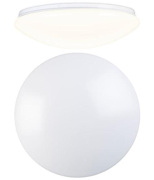 Plafonnier LED utilisable comme applique murale - Ø 38 cm - Blanc chaud