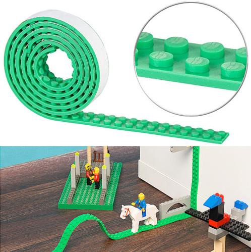 Bande adhésive 1m pour briques de construction - Vert