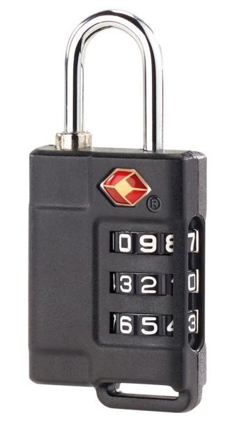 3 cadenas TSA pour valise avec code 3 chiffres