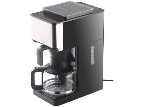 Machine caf lectrique filtre avec moulin grains int gr kf 812 f - Machine a cafe avec broyeur integre ...