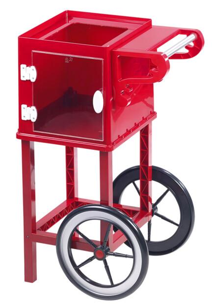 chariot retro pour machine a popcorn vintage style cinema rosenstein