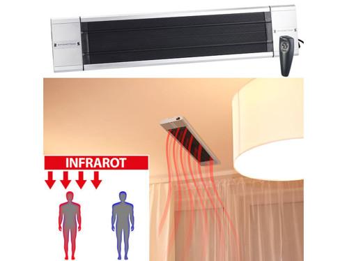 Chauffage radiant infrarouge ''RA-118'' 1800 W