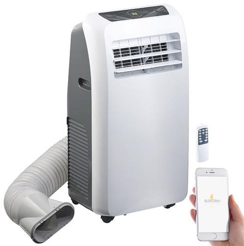 Climatiseur mobile réversible 12000BTU/h, 3500W, compatible Amazon Alexa et Assistant Google