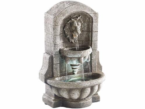 Fontaine d'ambiance avec LED et pompe - Fontaine au Lion
