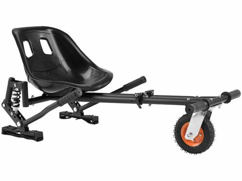 """Kart pour gyropode électrique jusqu'à 10"""" - Supporte une charge de 120 kg"""