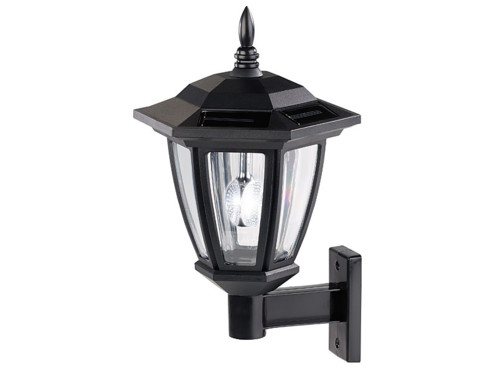 Lanterne led d 39 ext rieur style r tro avec alimentation for Lanterne exterieur led