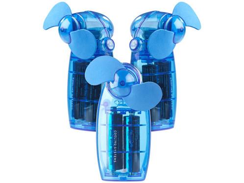 3 mini ventilateurs de poche sans fil