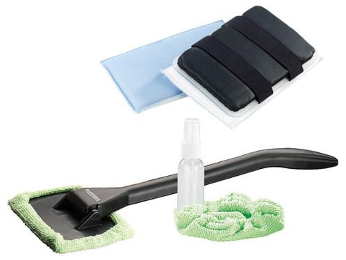 Nettoyeur pour Pare-Brise avec éponge en microfibre